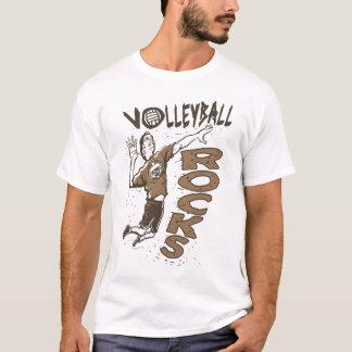 El voleibol oscila a Brown Playera