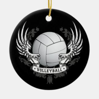 El voleibol se va volando el ornamento adorno para reyes
