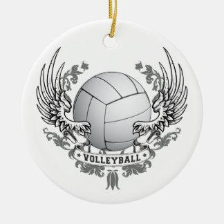 El voleibol se va volando el ornamento adorno de reyes