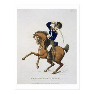 El voluntario de la caballería de Westminster, Tarjeta Postal