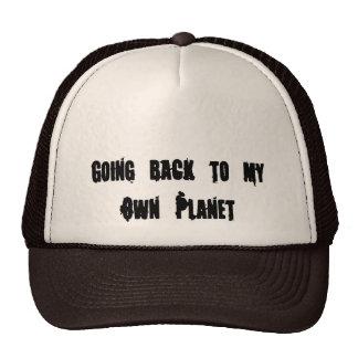 El volver a mi propio planeta gorro de camionero