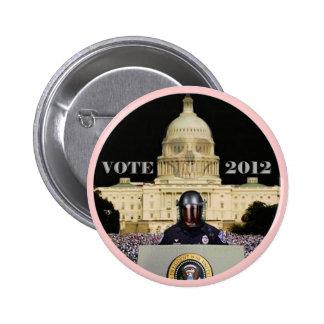 El voto 2012 perpetúa el mito (la versión de Romne Pin Redondo De 2 Pulgadas