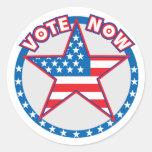El voto ahora protagoniza etiqueta redonda