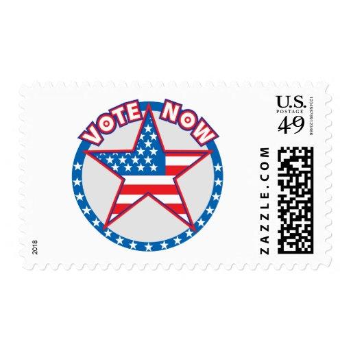 El voto ahora protagoniza sellos