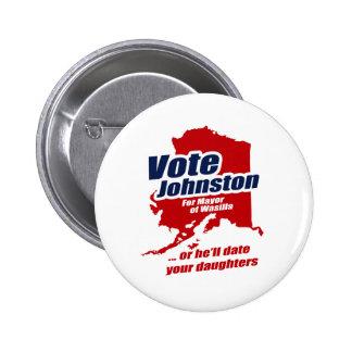 El voto Levi Johnston o él fechará a sus hijas Pin Redondo De 2 Pulgadas