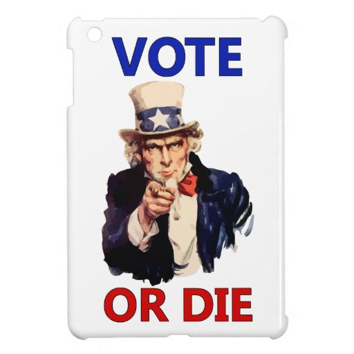 El voto o muere iPad mini funda