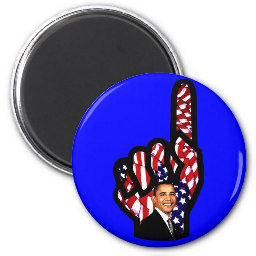El voto para Barack Obama 2012, reelige Obama_ Imanes Para Frigoríficos