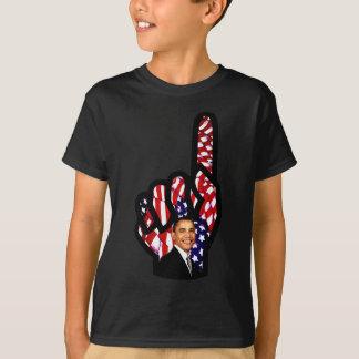 El voto para Barack Obama 2012, reelige Obama_ Playera