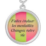 El votre de Changez de los mentalités de los les d Collar Personalizado