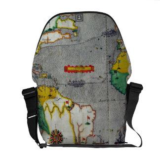 El voyadge indio del oeste del famouse hecho por e bolsa de mensajeria