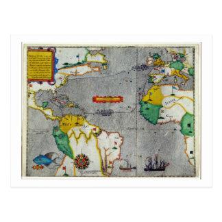 El voyadge indio del oeste del famouse hecho por tarjetas postales