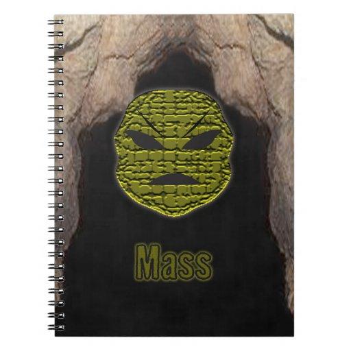 El vudú dirige la cueva del ~ cuaderno