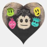 El vudú dirige la cueva del ~ colcomanias corazon personalizadas