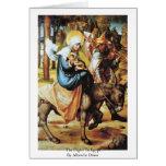 El vuelo a Egipto de Albrecht Dürer Felicitación