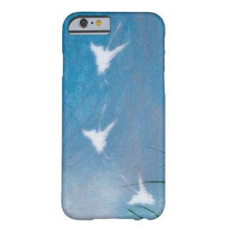 el vuelo cranes el caso del iPhone 6 Funda De iPhone 6 Barely There
