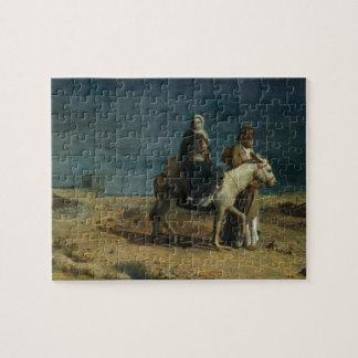 El vuelo de la espada de Herod, 1880 (aceite en c Rompecabeza Con Fotos
