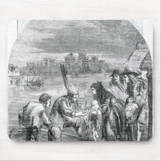 El vuelo de la reina de James II Mouse Pad