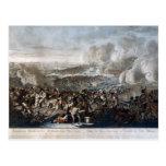 El vuelo de Napoleon de la batalla de Waterloo Tarjeta Postal