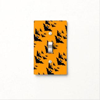 El vuelo negro lindo fresco golpea Halloween en el Tapas Para Interruptores