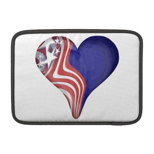 El vuelo raya el corazón funda  MacBook