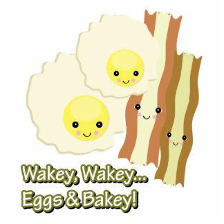 el wakey del wakey eggs bakey de n escultura fotográfica