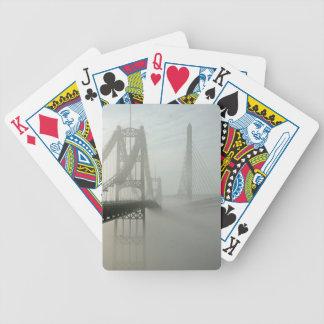 El Waldo Hancock y puentes de los estrechos de Pen Barajas De Cartas