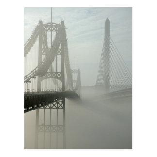 El Waldo Hancock y puentes de los estrechos de Postal
