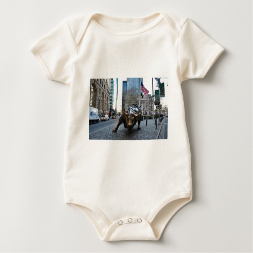 El Wall Street Bull Body Para Bebé
