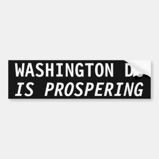 EL WASHINGTON DC ESTÁ PROSPERANDO PEGATINA PARA AUTO