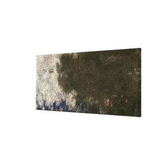 El Waterlilies - las nubes, 1914-18 Impresión De Lienzo