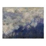 El Waterlilies - las nubes, 1914-18 Postal