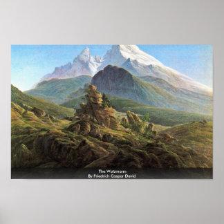 El Watzmann por Friedrich Caspar David Posters