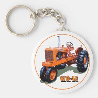 El WD-45 Llavero Redondo Tipo Pin
