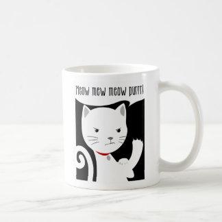 ¡el _we puede meow maullido! tazas de café