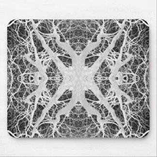 El Web de araña inverso de la copa Mousepad Tapete De Ratón