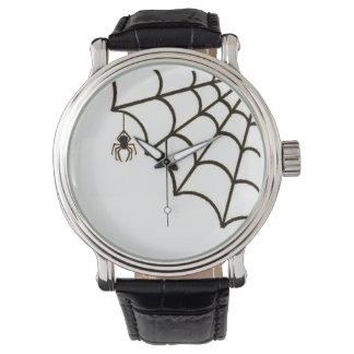 El Web de araña Reloj