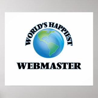 El Webmaster más feliz del mundo Póster