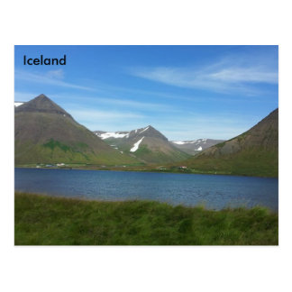 El Westfjords, Islandia Tarjeta Postal