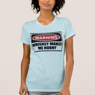 El WHISKY amonestador ME HACE la camiseta de las