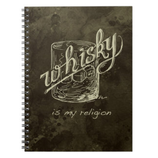 ¡El whisky es mi religión! Libros De Apuntes