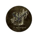 ¡El whisky es mi religión! Reloj De Pared