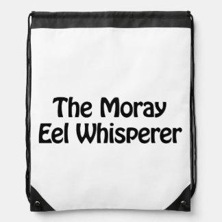 el whisperer de la anguila de moray mochilas