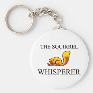 El Whisperer de la ardilla Llaveros