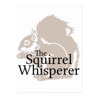 El Whisperer de la ardilla Postales