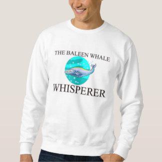El Whisperer de la ballena de Baleen Sudadera Con Capucha