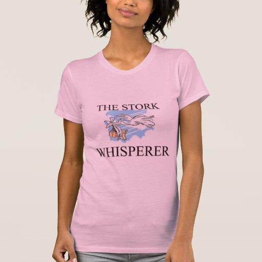 El Whisperer de la cigüeña Camisetas