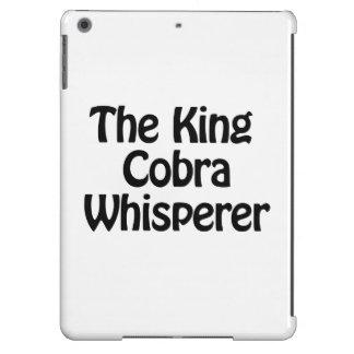 el whisperer de la cobra real funda para iPad air