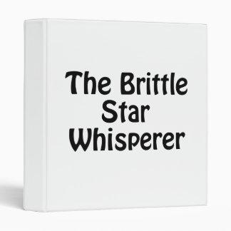 """el whisperer de la estrella frágil carpeta 1"""""""