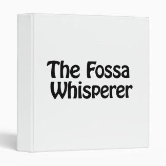 """el whisperer de la fosa carpeta 1"""""""