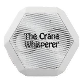 el whisperer de la grúa altavoces bluetooth blancos boombot REX